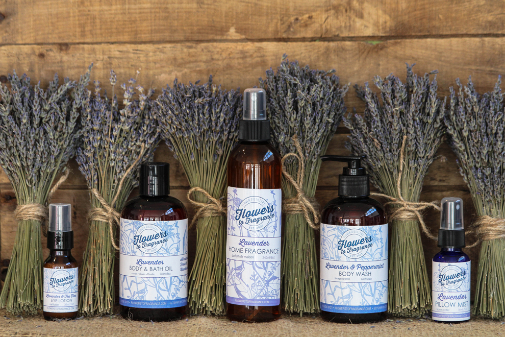 Flowers to Fragrance   Natural Skin Care & Home Products