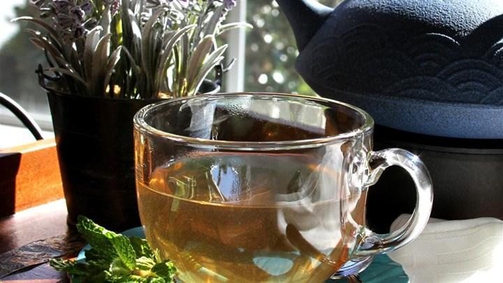 l-mint tea